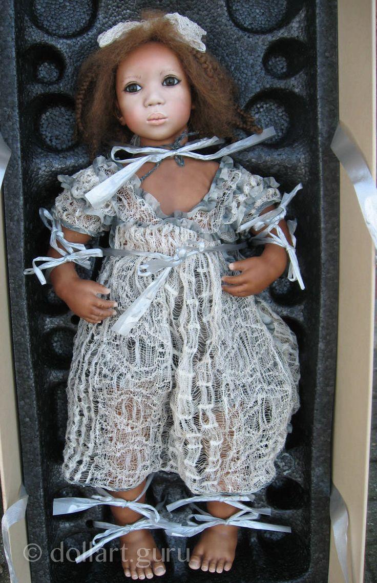 Keshia. Коллекционная фарфоровая кукла Annette Himstedt | Doll Art Guru