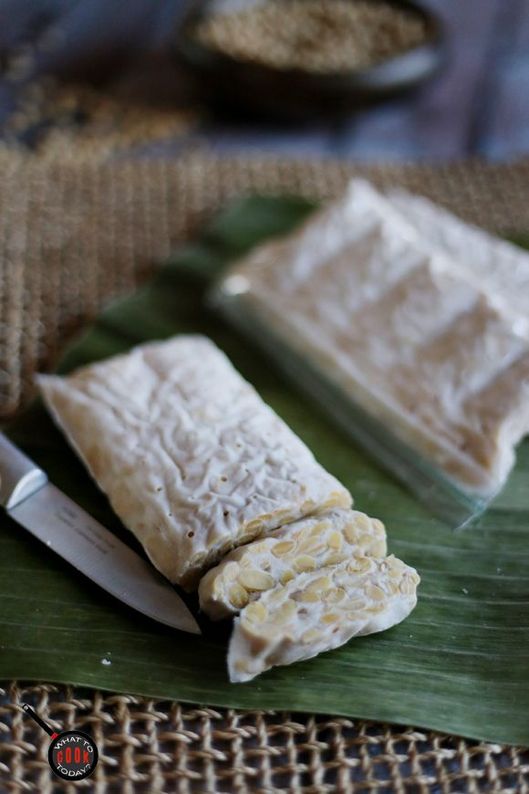 HOW TO MAKE YOUR OWN TEMPEH AT HOME