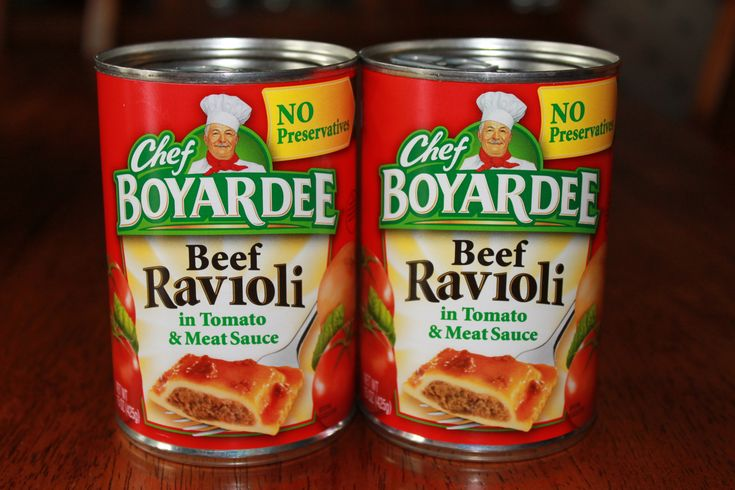 "Chef Boyardee ""Almost Homemade"" Recipes"
