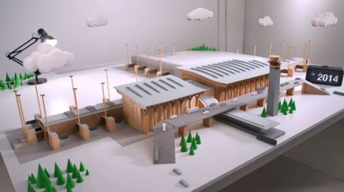 Oslo Airport Stop Motion by Passion Pictures