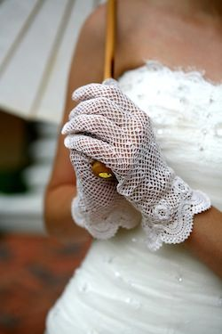 remember the days when ladies wore hats and gloves, love that time period