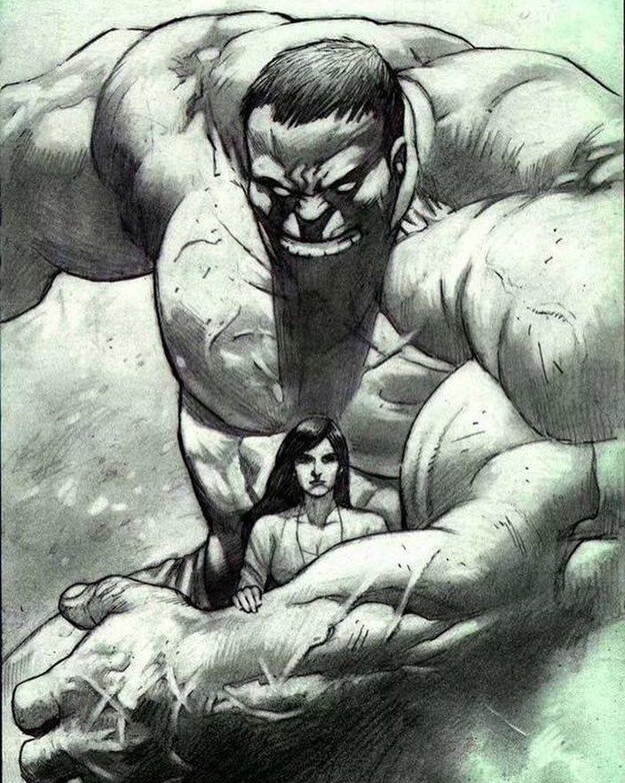 Hulk & Betty Ross - Lan Medina  Download at nomoremutants-com.tumblr.com   #marvelcomics #Comics #marvel #comicbooks #avengers #captainamericacivilwar #xmen #xmenapocalypse  #captainamerica #ironman #thor #hulk #ironfist #spiderman #inhumans #blackbolt #civilwar #lukecage #infinitygauntlet #blackpanther #guardiansofthegalaxy #deadpool #wolverine #drstrange #infinitywar #thanos #magneto #punisher #Cyclops #nomoreinhumans http://ift.tt/2e3YPwr