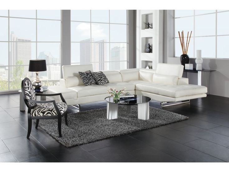 Madrid White 2-PC Sectional - Value City Furniture | Lobby | Pinterest | City furniture Space hack and Living rooms : value city leather sectionals - Sectionals, Sofas & Couches