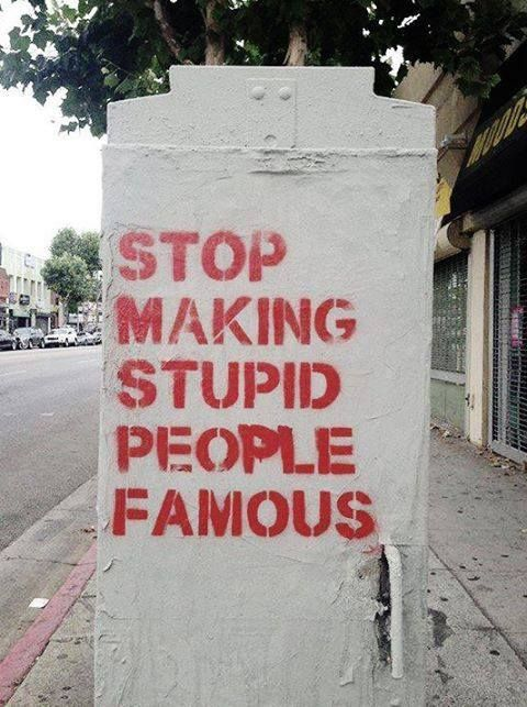 I want to live in a world where the criteria for fame is one's capacity to make the world a better place.