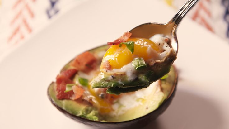 Avocado Egg Boats: Skip the carbs next time you want avocado toast with this genius hack. Whatever floats your breakfast boat.