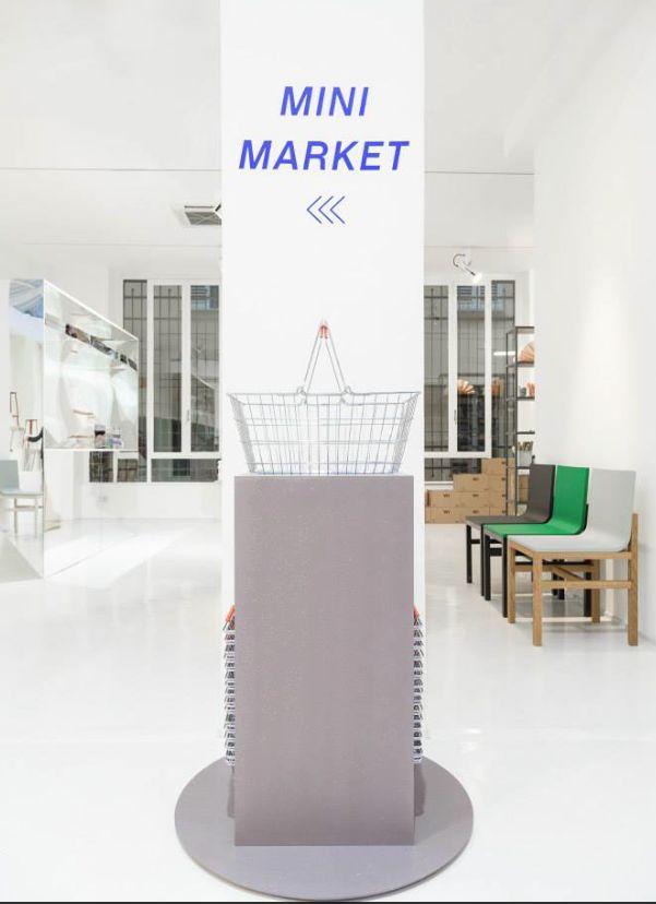 Mini market Hay at Salone Milano 2014