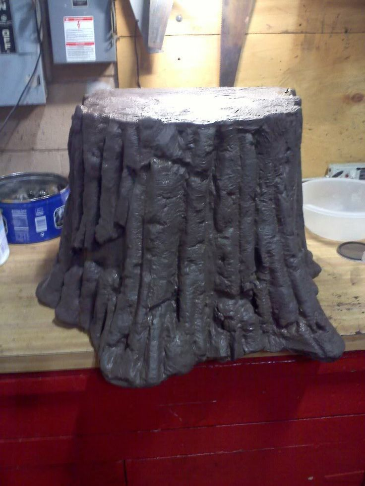 weird animals vbs trees | how to make a Tree stump