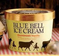 Blue Bell Creameries, Brenham, TX The very best there is anywhere on earth!! We always keep three different flavors in the freezer.