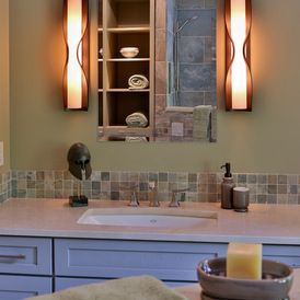 Transitional Bathroom Wall Sconces 79 best bathroom lighting images on pinterest | bathroom lighting