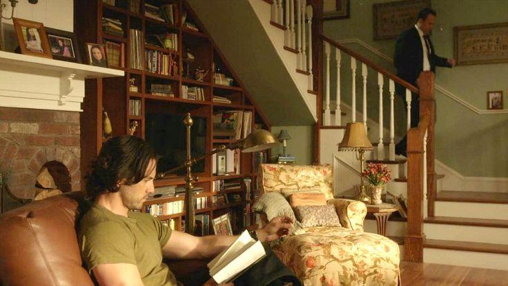 Lorelai's living room on Gilmore Girls