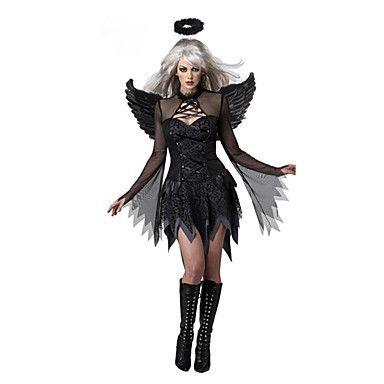 Cosplay Kostuums / Feestkostuum Engel en Duivel Festival/Feestdagen Halloween Kostuums Zwart Patchwork Kleding / Meer Accessoires 5246723 2017 – €19.59