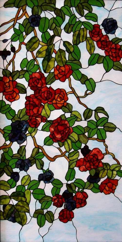 Image detail for -Stained Glass Windows & Panels Flower - China Church Windows,Stained ...