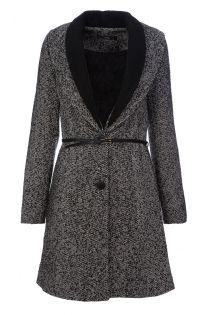 Grey Tweed Coat