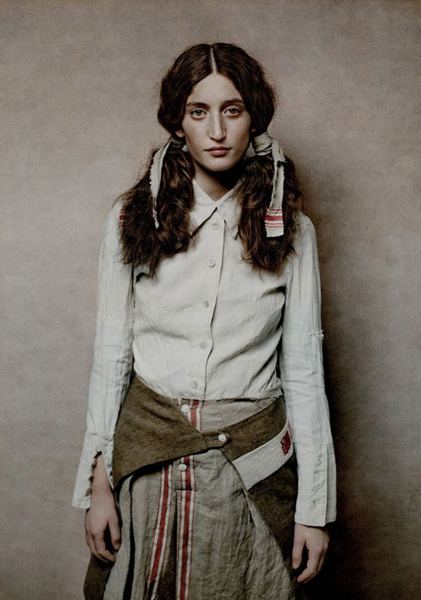 A/W 2011-12. Berlin. Christine Mayer. Peace collection.