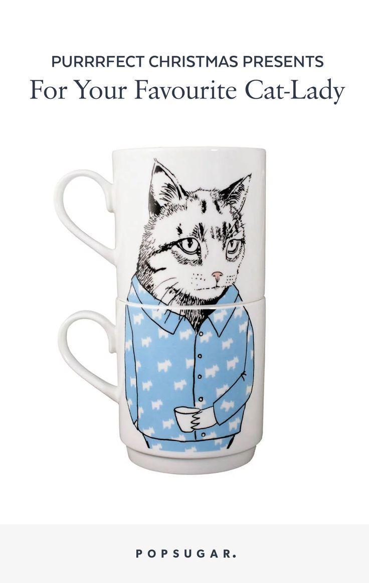 Christmas Gift Guide for Cat Kitten Obsessed Friends
