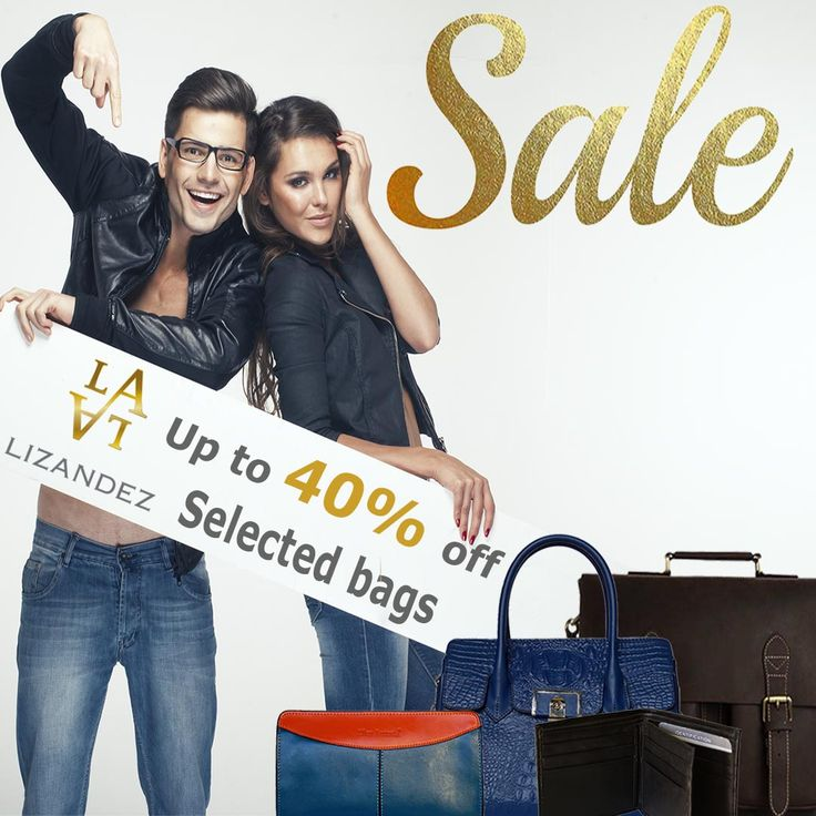 Sale now on, on a select range of leather products & accessories
