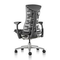 A Cadeira Embody faz bem para o corpo e para a mente. Total liberdade de movimentos e adaptação a qualquer tipo de corpo. A Embody facilita o fluxo de sangue pelo corpo e de idéias pelo cérebro.