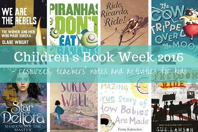 Descriptions, resources, teacher notes and activity ideas from short listed books for the 2016 Children's Book Council of Australia's awards.