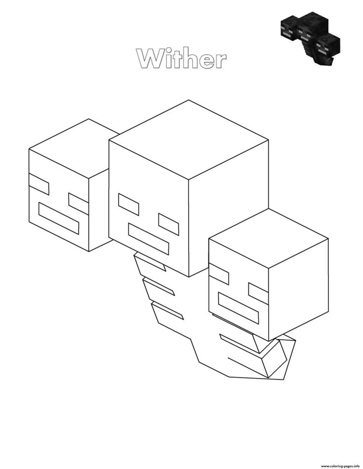 22+ Amazing Picture of Minecraft Coloring Pages ...