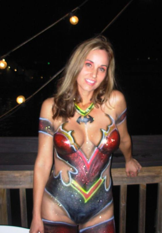 Sorry, that Nude body paint women in key west thought differently