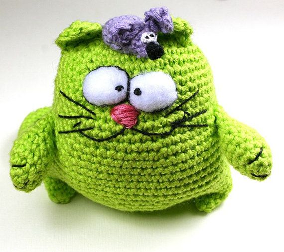 Zilka crochet Cat amigurumiCrochet Animal Crochet by SoutacheOOAK