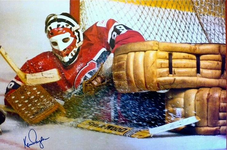 Ken Dryden- I'm (distantly) related to him.