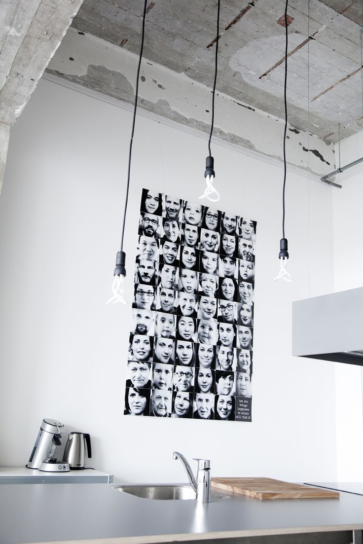 IXXI wall decoration made with close-ups of family members. The result is beautiful and will fit in everyones interior. The IXXI in this example will cost $144.95 (own images, 120 x 180). #ixxi #ixxidesign