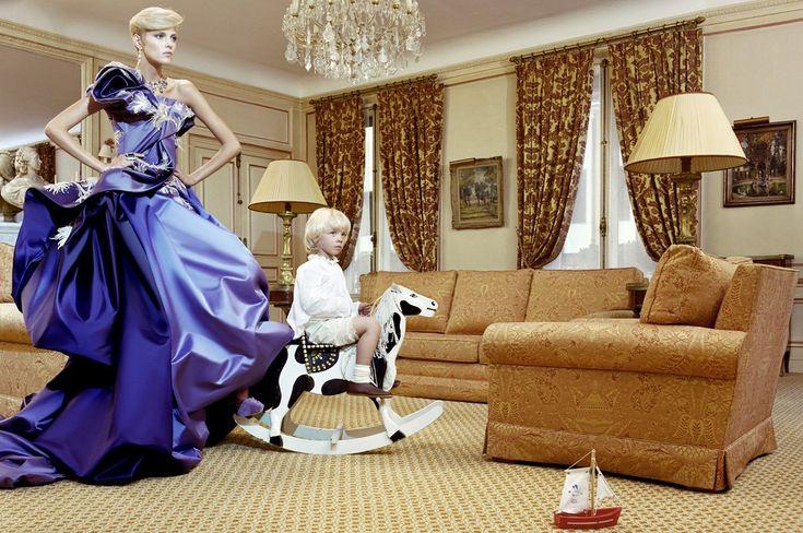 Anja Rubik Miles Aldridge Vogue Italia Fashion Photography