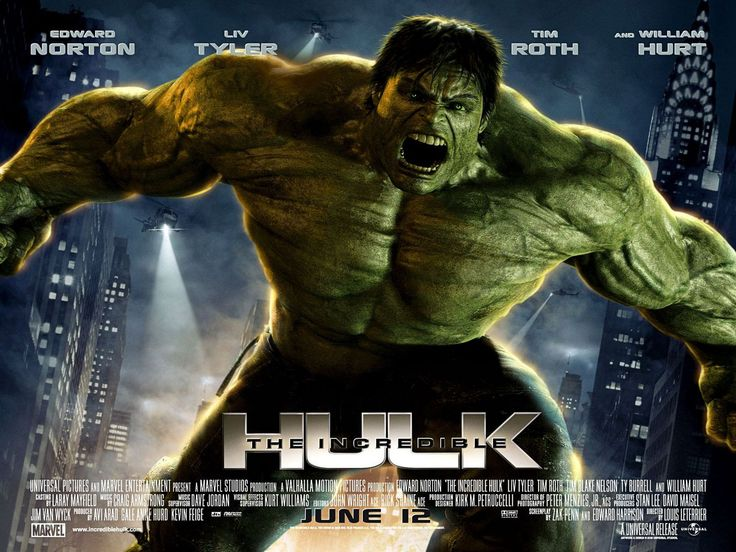 Poster Image Starring: Edward Norton, Liv Tyler, Tim Roth, Tim Blake Nelson, Ty Burrell, William Hurt Directed by: Louis Leterrier Distributed by: Universal Pictures. Release Date: June 13 2008. The Incredible Hulk Trailer was last modified: February 10th, 2016 by Kaarle Aaron