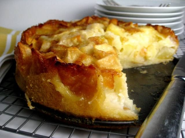 French Apple Cake...Authentic, rustic and wonderful.