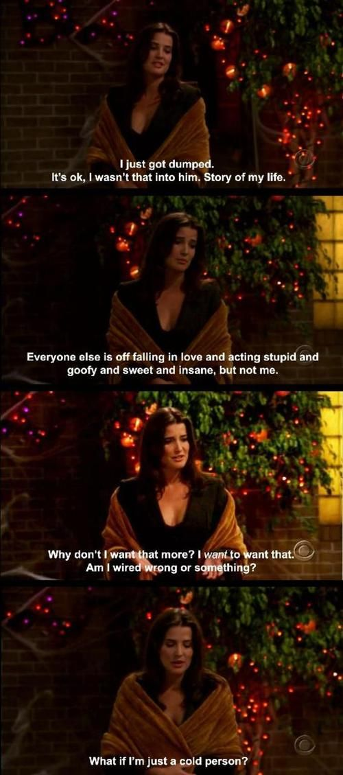 Himym - Robin - This is exactly how i feel at times! Lol! -