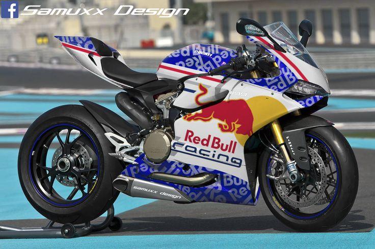 Ducati 1199 Panigale Red Bull
