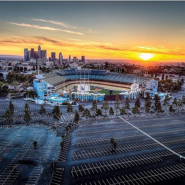 Dodger Stadium in LA