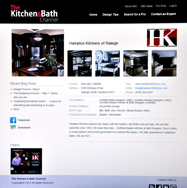 your kitchen u0026 bath channel helps increase traffic to your website and your seo efforts