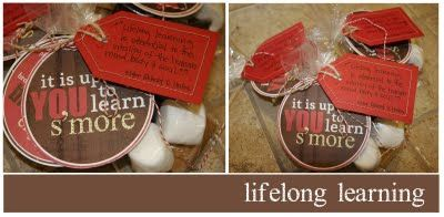 Cute s'mores handout about lifelong learningLearning Smores, Church Stuff, Gift Ideas, Teaching Ideas, Visiting Teaching, Smores Kits, Visit Teaching, Lifelong Learning, Learning S More