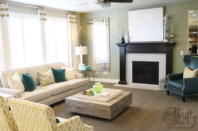 10 Images About Teal Mustard Living Room On Pinterest Decorating On A Budget Chairs And Gray