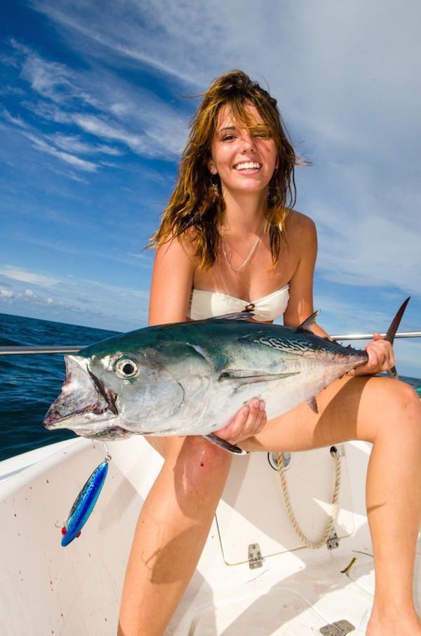 220 best bass fishing images on pinterest bikini gone for Girls gone fishing