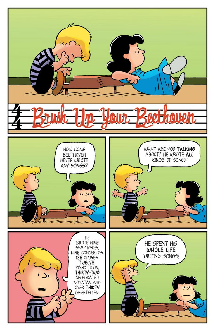 KaBOOM Peanuts Series 2, #11 - Brush up your Beethoven 1