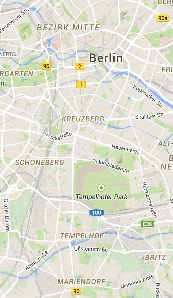 Plattegrond Berlijn