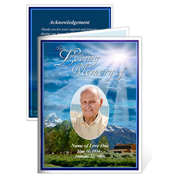 Best  Funeral Cards Ideas On   Memorial Service