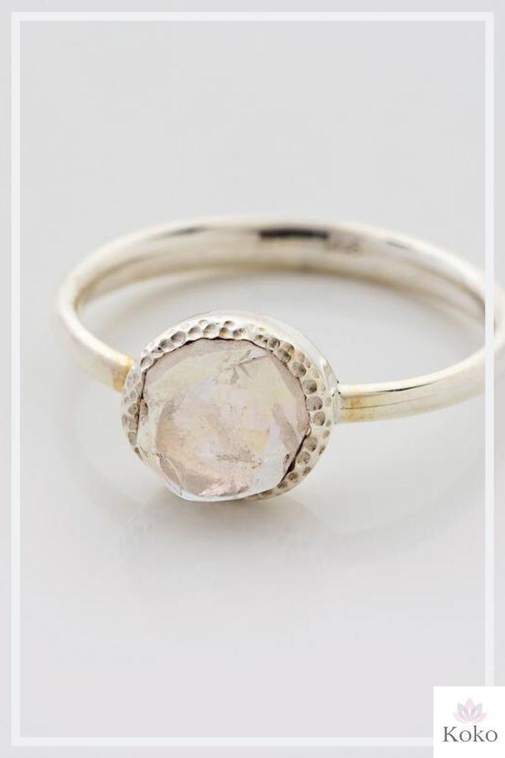 Raw Moonstone Ring Raw Gem Rough Gems Semi Precious Stone Moonstone Jewellery Sterling Silver Ring June Birthstone Size 52 L 1 2 6 5 Raw Gemstone Jewelry Jewelry Moonstone Jewelry