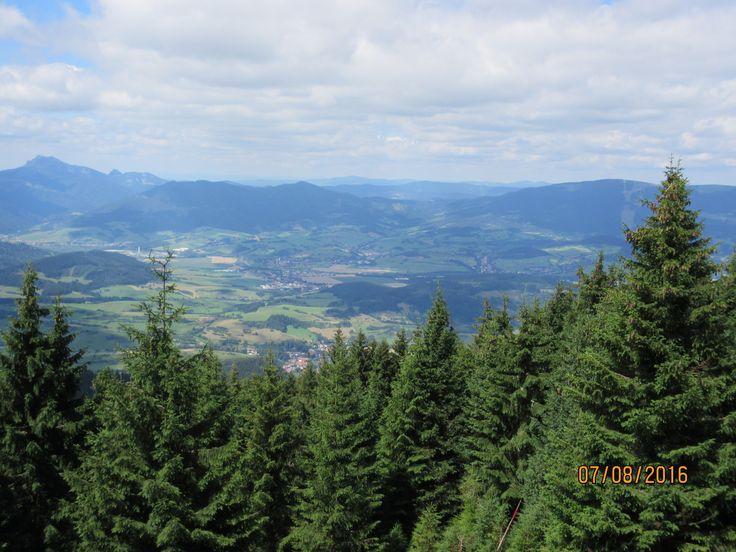 View for Kubínska hoľa and Malá Fatra