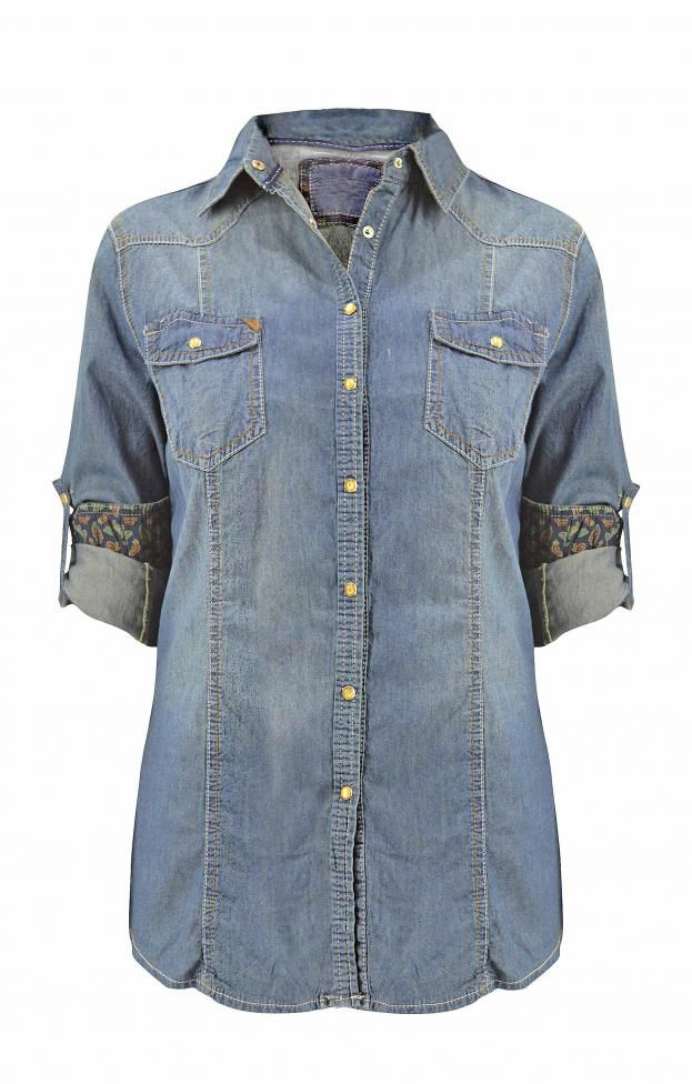 Γυναικείο πουκάμισο τζιν | Jeans & Denim - Jeans & Demims - Denim