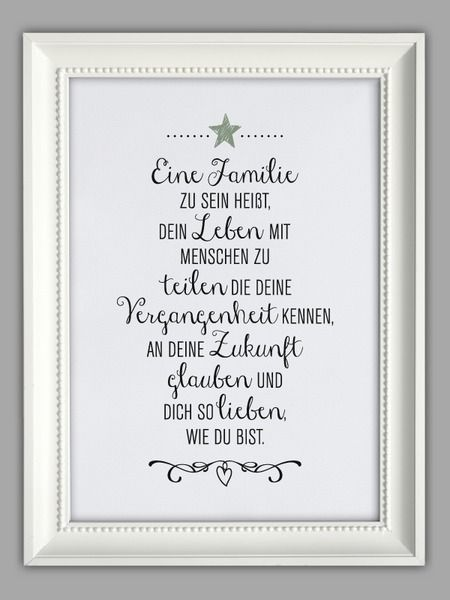 """FAMILIENGLÜCK"" Kunstdruck von Smart-Art Kunstdrucke auf DaWanda.com"