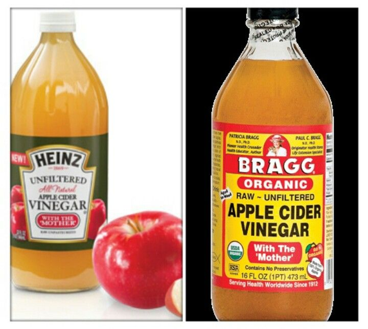 Apple Cider Vinegar Diet -take 1-3 tbsp before meals - can