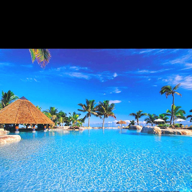 I wouldn't mind going to Fiji....