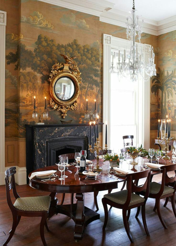 25 best ideas about dining room fireplace on pinterest for Victorian terrace dining room ideas