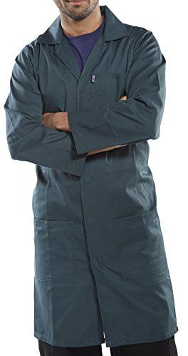 Cheap Click Warehouse Jacket Lab Coat Green deals week