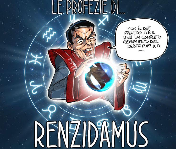 La Profezia di RENZIDAMUS o_0 Ma voi credete a questa Profezia??? #VignettaDelGiornoDiBoban #VignettaVideo