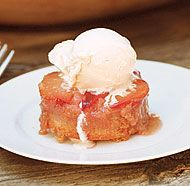 Plum Upside-Down Cakes | Fine Cooking